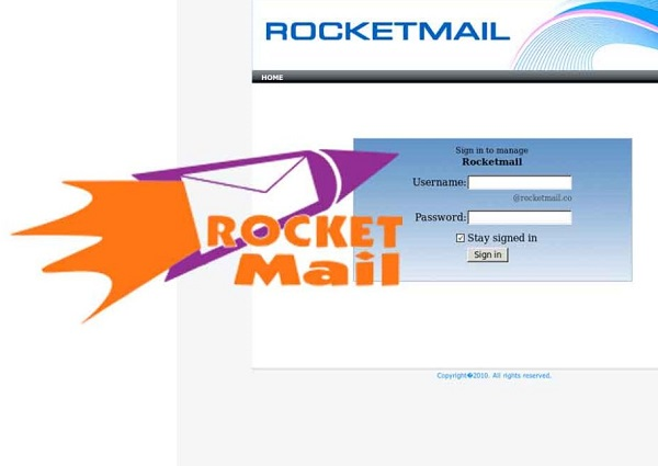 rocketmail login